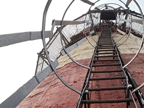 高空作业爬梯修复
