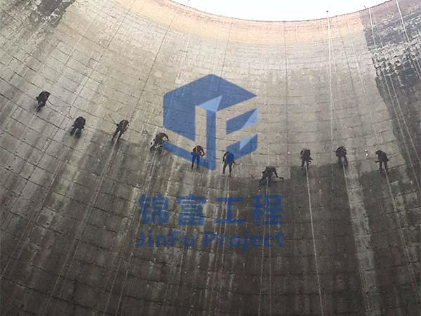 防腐冷却塔施工