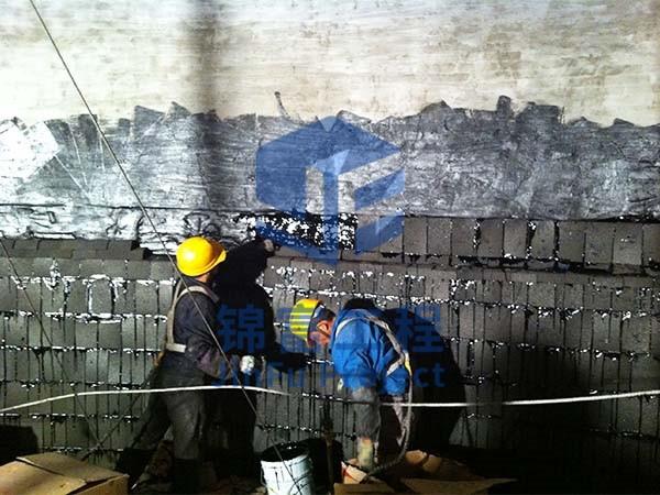 烟囱内壁脱硫防腐工程