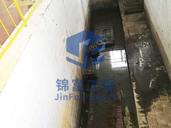 电厂污水池堵漏
