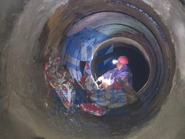 地下涵管加固