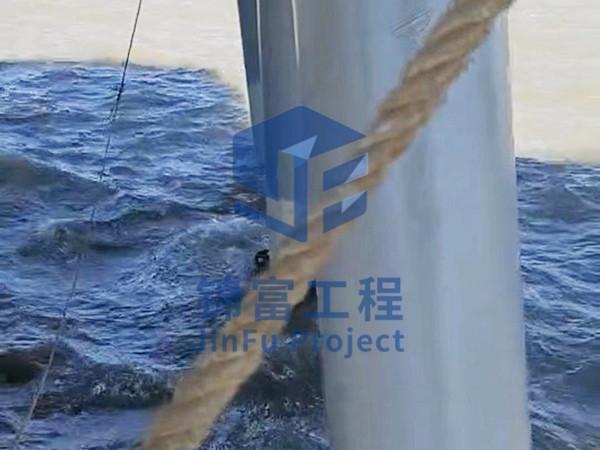 海上码头桥桩加固修复防腐